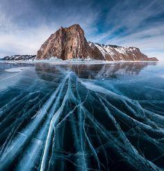 Lago Baikal, na Rússia