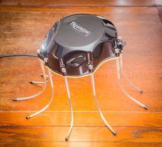 """A Triumph """"Spider"""" desk lamp with a bite! Desk Lamp, Spider, Design, Spiders"""