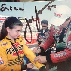 A young Erica Enders