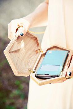 clutch wood clutch ECO CLUTCH  clutch bag evening Clutch