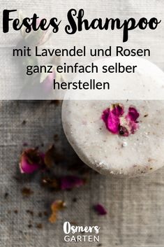 Green Advent - 5 beauty and natural cosmetic gifts - Osmer& garden The own . - Green Advent – 5 beauty and natural cosmetic gifts – Osmer& Garden Make your own shampoo w - Diy Shampoo, Shampoo Bar, Solid Shampoo, Diy Makeup Kit, Diy Beauty, Beauty Hacks, Natural Cosmetics, Makeup Remover, Makeup Brushes