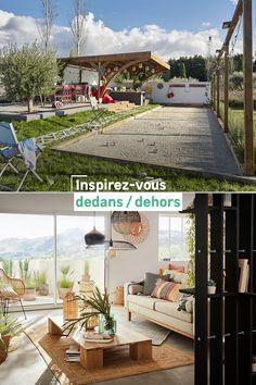 Envie d'inspiration pour votre maison ? Des idées déco et des tendances pour l'intérieur et l'extérieur ! Osez vos propres projets pour votre jardin, votre terrasse, votre salon, votre cuisine et votre chambre ! Inspirez-vous avec notre nouveau catalogue.