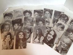 Billboard Penny Arcade Exhibit Cards Lot of 28 Vintage #Celebrity Trade Cards