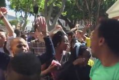 Yesterday, thousands of protesting students from the University of Cape Town (UCT) and the Cape Peninsula University of Technology (CPUT) descended on Parliament in Cape Town. South African News, University Of Cape Town, Vocal Exercises, Radio Wave, Singing Tips, Piece Of Music, Music Covers, Choir, Improve Yourself