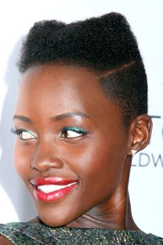 Nick Barose, the master makeup artist behind Lupita Nyong'o's signature liner shares 10 New Ways to Wear Eyeliner. Click through to learn how to get the look.
