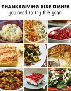 Food and drink Food and drink. Thanksgiving Side Dish Round Up - Modern Parents Messy Kids. Thanksgiving Side Dishes, Thanksgiving Recipes, Fall Recipes, Holiday Recipes, Great Recipes, Favorite Recipes, Family Thanksgiving, Holiday Desserts, Dinner Recipes