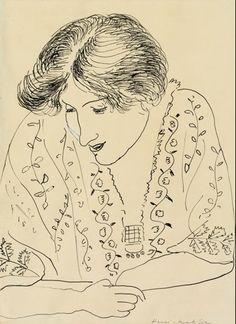 Henri Matisse, Femme Ecrivant - 1918 on ArtStack #henri-matisse #art