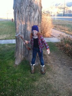 Zombie lumberjack killer!