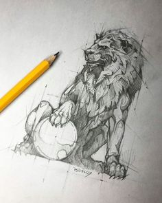 Psdelux is a pencil sketch artist based in Tatabánya, Hungary. He usually draws animal sketches. Psdelux also makes digital drawings. Animal Sketches, Animal Drawings, Drawing Sketches, Art Drawings, Sketch Art, Pencil Drawings, Pencil Art, Art And Illustration, Lion Sketch