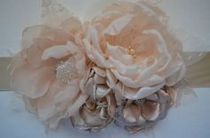 Hey, I found this really awesome Etsy listing at http://www.etsy.com/listing/150179893/solid-champagne-wedding-sash-bridal-belt