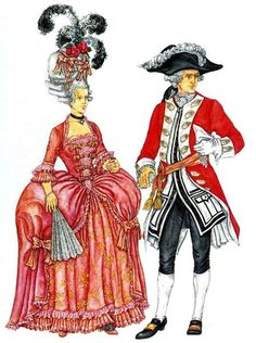 Искуство и костюм эпохи рококо xviii века в картинках