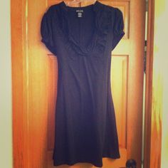 Little Black Dress Cute, ruffle-collared black dress. Simple, but easy to dress up! Juniors XL, so it fits more like a Large Wet Seal Dresses Mini