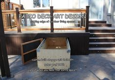 Under Deck Storage Design Ideas, Pictures, Remodel, and Decor - page 3