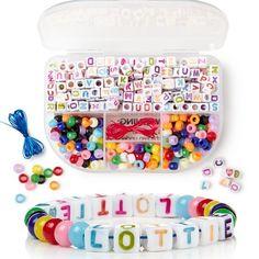 Et fargerikt hobbysett med blandede perler!