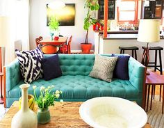 I want this couch, minus the throw pillows