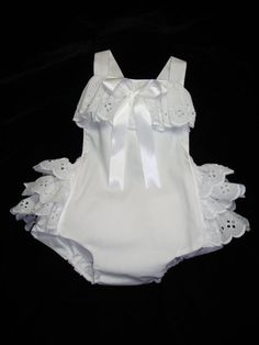 Ready to Ship 6 mos Frilly Infant Toddler Baby by BloominCuties, $32.00