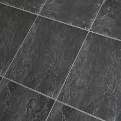 8 3mm Ac3 Black Slate Tile Wood Laminate Flooring 1 09 Sf