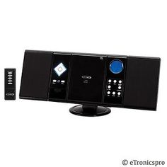 JENSEN-JMC-180-HOME-MICRO-MINI-COMPACT-SHELF-AUDIO-SYSTEM-STEREO-with-CD-PLAYER