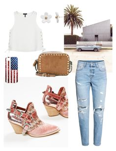 """""""California dreaming"""" by nyx85 on Polyvore featuring rag & bone, Poporcelain, Valentino and H&M"""