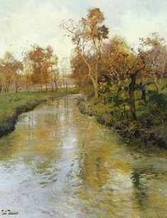 Autumn by Fritz Thaulow