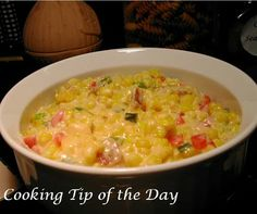 #Applebees cheesy corn recipe.  I HAVE to try this. Ever since I tried some last week, I've been dying for more!