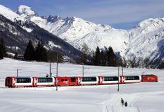 По Швейцарии поездом.