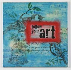 My Noteworthy Cards: Follow Your Art