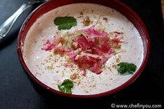 Watermelon Radish Raita Recipe | Radish Yogurt Sauce