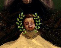 Helin- Child digital painting.