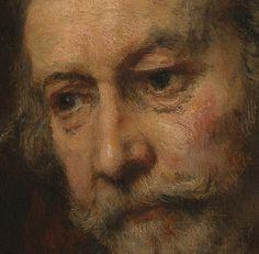 Rembrandt - An Elderly Man as Saint Paul, nDetail