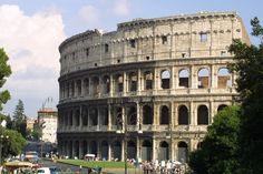 Colosseum, Rome, 72-80 CE Repeated arcades in rings Orders all present by level 50000 ppl