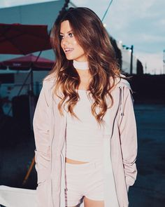 Hannah Stocking, Text Me, Down Hairstyles, Celebs, Celebrities, Curly, Stockings, Hair Styles, Instagram