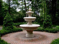 Three Tier Black Granite French Garden Fountain - Buy Fountain ...