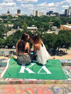 Graffiti park | Austin | girl's weekend trip For more updates on our sisters, follow us on Facebook, Twitter, Tumblr, and Instagram @UNTKappaDelta