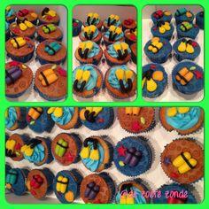 Diving cupcakes