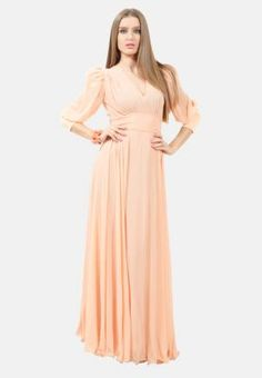 Julea Domani  Fit and Flare belted long dress