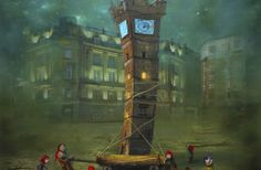 Tolbooth (Glasgow) ... by Polish artist Matylda Konecka