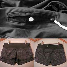 Lululemon Shorts Barely worn... Maybe twice? Great condition! Basically new!! Size 2 lululemon athletica Shorts Skorts