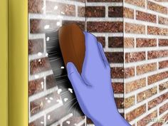 How to Clean Soot from Brick. A fireplace can be a cozy addition to any home, but one of the inevitable byproducts is soot on the surrounding bricks. Soot can leave lasting stains on the material it comes in contact with, so it's important.