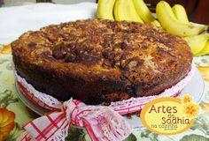 Eu já disse para vocês colega que eu amo Bolo de bananas e bolo de maçãs né ,mas este bolo chegou ao patamar mais alto ,é o bolo faro...