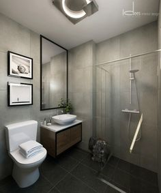 Toilet Interior Design – Home Inspiration Scandinavian Toilets, Scandinavian Interior, Free Interior Design, Home Design, Grey Laundry Rooms, Toilet Design, Bathroom Interior, Home Deco, Small Bathroom