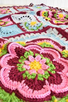 """This stunning blanket has been designed by the very talented Helen Shrimpton, who also designed the Mandala Madness CAL. Rose of Avalon was inspired by Helen's love of Arthurian legends the design of the squares and the shades selected have been carefully chosen to reflect the medieval sources of the legends. Each square is named after one of the ladies from the myths: Guinevere 17 x 17"""" x 4 Lady of the Lake 10 x 10"""" x 4 Igraine 5 x 5"""" x 12 Isolde 5 x 5"""" x 10 Morgana 5 x 5"""" x 7 The completed…"""