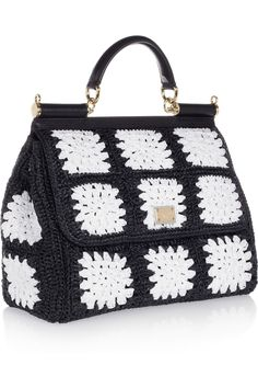 Dolce & Gabbana | The Sicily crocheted tote | NET-A-PORTER.COM