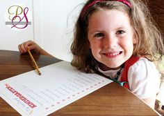 First day of school interview (free Printables) great as a keepsake