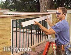 Build a No-Rot, No-Maintenance Deck Deck Building Plans, Deck Framing, Concrete Footings, Cement Siding, Deck Railings, Diy Deck, Composite Decking, Decks And Porches, Deck Design