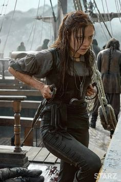 Anne Bonny (Clara Paget)- 'Black Sales' --- She would show them. She was just as strong as the rest of the crew. Clara Paget, Fantasy Magic, Chica Fantasy, Fantasy Story, Story Inspiration, Character Inspiration, Foto Gif, Pirate Queen, Pirate Life