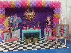 Tema de Festa Ever After High - Decorativa Festas - Decoração de Festa Infantil em Florianópolis