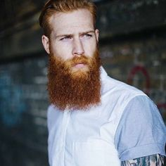 BEARDLIFE — Red is by far our favourite @gwilymcpugh...