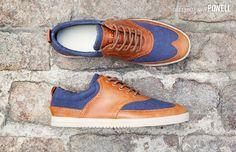 Grizzly Deep Navy Powell: American footwear brand CLAE