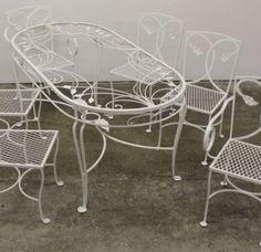 Salterini Rod Iron Patio Furniture